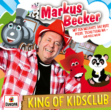 Musik CD: Markus Becker - King of Kidsclub